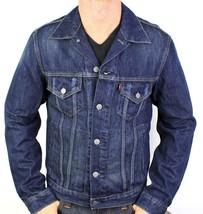 Levi's Men's Classic Cotton Button Up Blue Denim Jeans Jacket 707970013 Size XL image 1