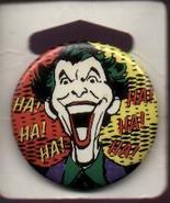 Batman Joker Laughs DC Comics 1989 Pinback  - $2.99