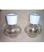 Older Set of HIS & HERS HOTTLE GLASBAKE Table Glasses - $8.00