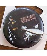 DC Comics Batman with the Batmobile 1989 Pinback  - $2.99