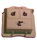 Cherries Jubilee Small Wall Cabinet - $30.00