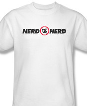 Nerd Herd Funny Fictional Computer and Technical Support Graphic T-shirt WBT158 image 2