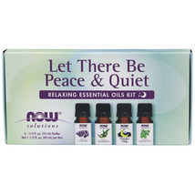 Now Solutions Let There Be Peace & Quiet Relaxing Essential Oils Kit - 4 Bottles - $17.55