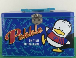 Sanrio Storage Thin Box Pekkle On Time Off Balace 1996 - $14.03