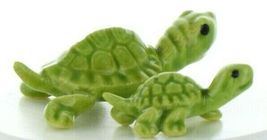 Hagen Renaker Miniature Turtle Mama and Baby Ceramic Figurine Set image 10