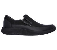 Foam Skechers Sporty New Black Comfort Men shoe Mesh On Slip 52419 Memory Casual q1X5xZRqw