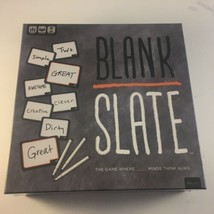 Us Aopoly Blank Slate The Game Where Great Minds Think Alike Board Game - $21.77