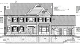 """House Plan """"COLONIAL"""" 4279 sq/ft - $494.99"""