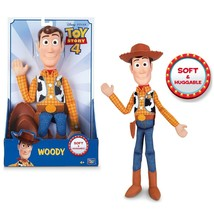 "Disney Pixar Toy Story 4 Sheriff Woody 16"" Action Figure Officially Lice... - $26.99"