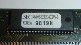 New Samsung KMM5321204C2W-6 Memory MODULE,DRAM,EDO,1MX32,CMOS,SSIM,72PIN,PLASTIC - $18.00