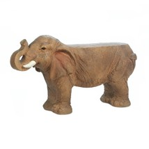 Bench For Kids, Small Elephant Garden Patio Decorative Outdoor Backless ... - $435.16