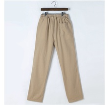 Men's Comfort Linen Casual Loose Pants image 10