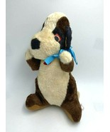 Superior Toy And Novelty Large Puppy Dog Plush Stuffed Animal Vtg Carniv... - $29.99