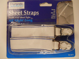 Sheet Straps Bedding Bed Coverings Sheets Blankets  #DS266 - $8.99