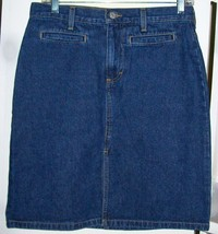 NEW Tommy Hilfiger Jean - Denim Skirt~Size 5~Perfect~NWOT~A Wardrobe Must Have! - $22.74