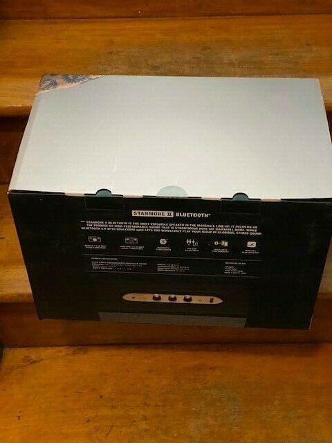 Marshall - Stanmore II Bluetooth Speaker - Black-Brand New In Box