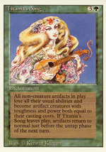 Magic: The Gathering 3rd Edition - Titania's Song - $0.25