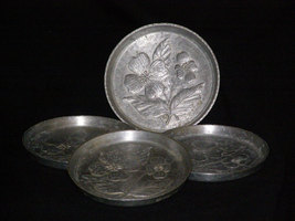 Vintage Hand Wrought Coasters by STEDE Set of 4 - $22.95