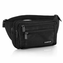 AUOPLUS Fanny Pack for Men/Women, Multi Pocket Belt Bag Outdoor Waist Pouch - $22.39