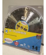 "X-Turbo Saw Blade 14"" x .125 x 1"" Turbo high speed Diamond with air hole... - $108.34"