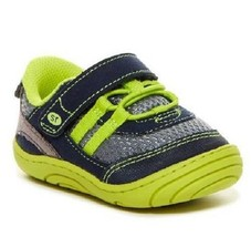 Boy's Toddler STRIDE RITE IVAN Blue+Yellow Athletic Casual Sneakers Shoe... - $15.75