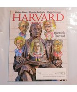 Harvard Magazine 2011 March Quotable Wallace Shawn Muscular Dystrophy S3 - $39.99