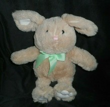 "12"" ANIMAL ADVENTURE 2014 BROWN / TAN BUNNY RABBIT STUFFED PLUSH TOY LOV... - $23.38"