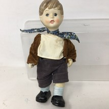 Vintage Oumlet Hansel Bisque Porcelain Doll Strung Joint 10 inches tall ... - $9.98