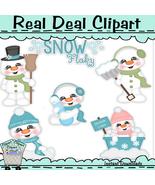 Snowflaky Clip Art - $1.25