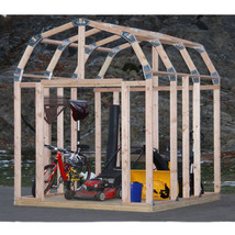 Brand NEW Shelter It EZ Framer 7' x 8' Shed Framing Kit Barn Style - $79.19