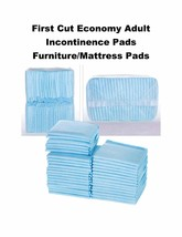 """200-23x24"""" First Cut Economy Adult Incontinence Pads Lightweight 3-Layer - $29.95"""