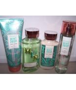 4 Pc Bath & Body Works Coconut Mint Drop Set- Mist, Shower Gel, Cream & ... - $27.99