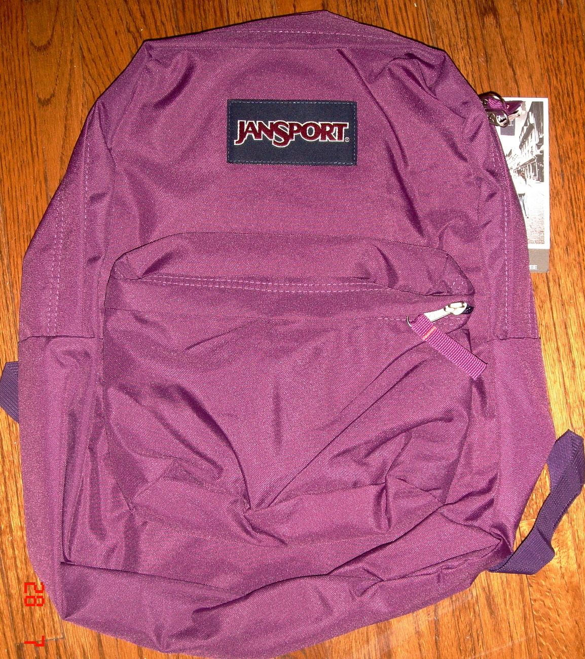 JanSport Superbreak Backpack ~ Punjabi Purple ~ NWT