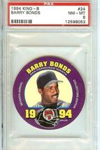 1994 King B Disk S.F.Giants Barry Bonds Card Psa 8 - $69.99