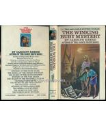 Dana Girls #12 The Winking Ruby Mystery 1974 1st  - $14.99