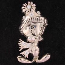 PIN BROOCH Tweety Bird WARNER BROS Looney Tunes... - $49.99