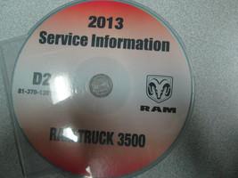 2013 DODGE RAM TRUCK 3500 Service Shop Repair Manual ON USB - $188.05