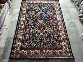 Handmade Kashmiri Wool Rug | Carpet | Turkish Rug | Persian Rug | Carpet - $450.00