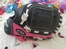 "Rawlings girls player series pink glove PL85PB 8.5"" - $11.87"