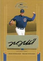 2005 DONRUSS AUTOGRAPH CHICAGO CUBS RUSS ROHOICEK SERIAL # 1014/1200 - $49.99