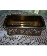 Vintage Pyrex Loaf Pan & Flora Server - $23.00