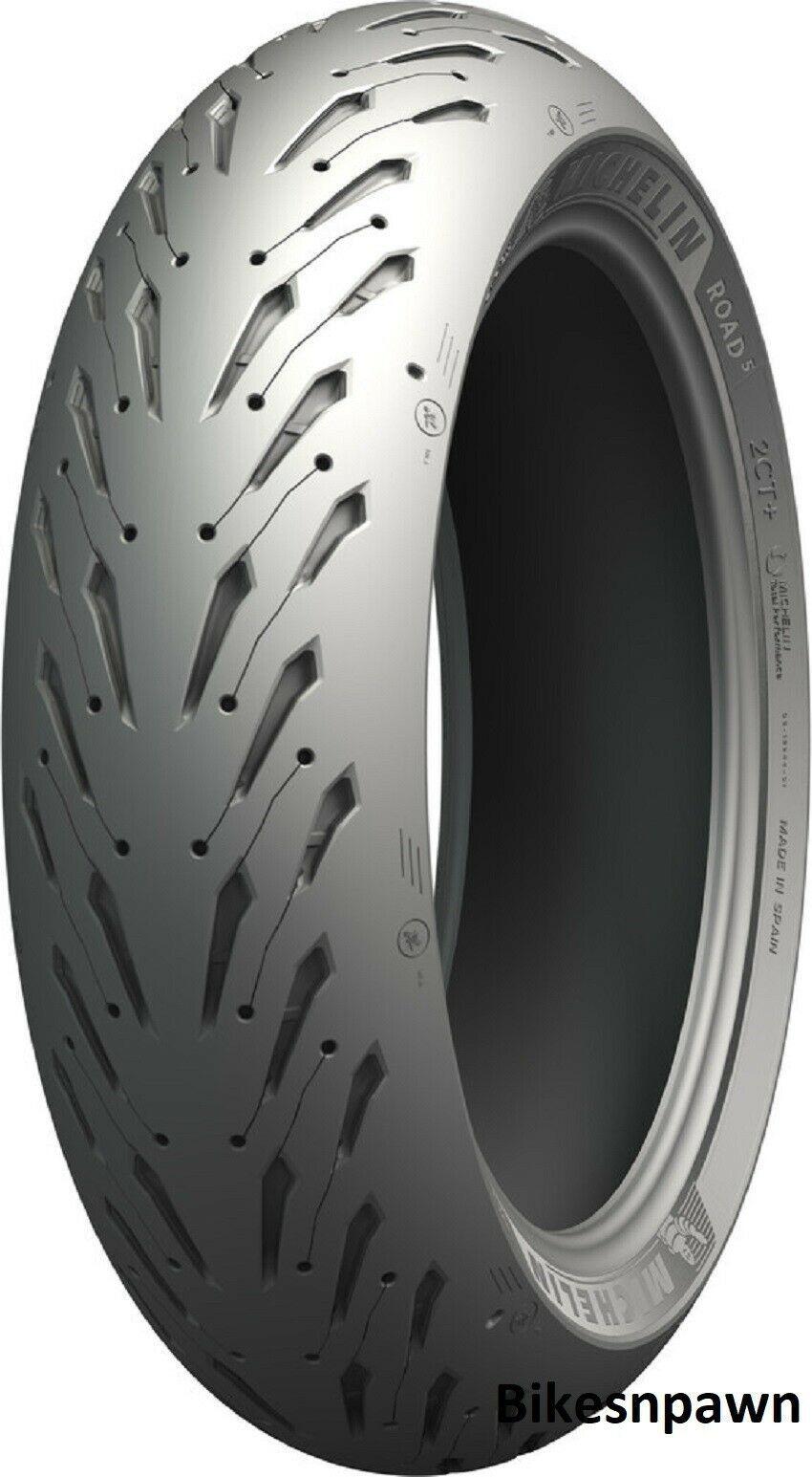 New Michelin Pilot Road 5 GT 190/55ZR17 Rear Radial Motorcycle Tire 75W 79407