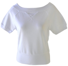 Planet Gold Size M Juniors White Top - $6.99