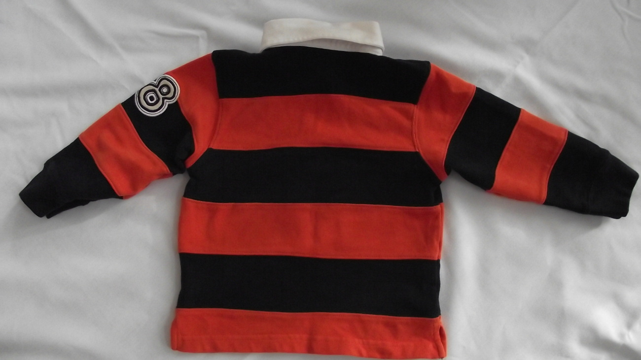 Gymboree 2T Toddler rugby shirt