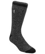 Heat Holders Original 2.3 Tog Thermal Socks Black Gray Twist Men 7-12 Women 8-13 - $11.88