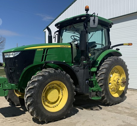 2017 JD 7210R Tractor FOR SALE IN Ubly, MI 48475