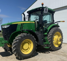 2017 JD 7210R Tractor FOR SALE IN Ubly, MI 48475 image 1
