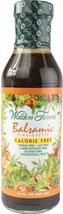 Walden Farms Calorie-Free Balsamic Vinaigrette, 12 Ounce Pack of 6