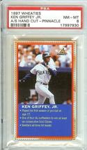 1997 Wheaties Seattle Mariners Ken Griffey Jr Psa 8 - $39.99