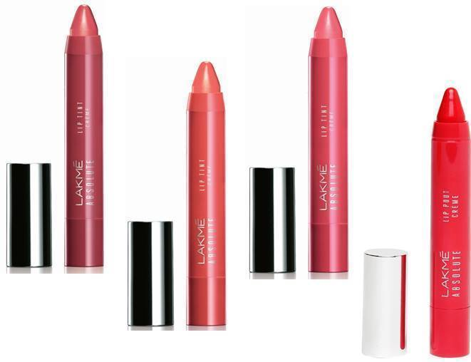Lakme Absolute Lip tint / Pout Cream Choose From 10 Shades creamy lip 3.2 Gm